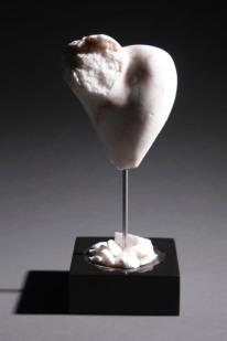 Relic - mended - rose alabaster, basalt