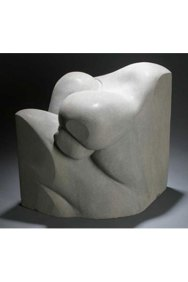 Man in a Box - Tenino sandstone-SOLD