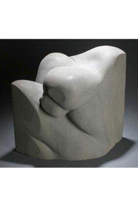 Man in a Box - Tenino sandstone-SOLD