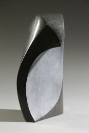 One Wave, Black Granite. SOLD